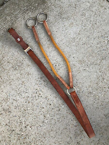 WEAVER Leather QUALITY Made HORSE Training Fork / Martingale