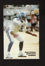 Central Connecticut State Blue Devils--1994 Pocket Football Schedule--UPS