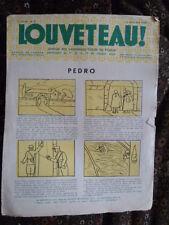 Magazine LOUVETEAU n° 8 - 1935 - Imprimerie des ouvriers sourds-muets PARIS