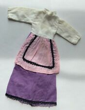 Attractive Dress - ruler in photos - vintage dolls clothes