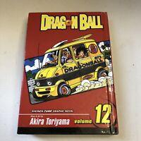 Dragon Ball Z Shonen Jump Manga Vol. 12 Vizmedia Graphic Novel Akira Toriyama