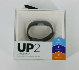 UP2 by JAWBONE Wireless Activity and Sleep Tracker Band ONE SIZE Black