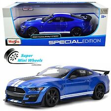 Maisto 1:18 Special Edition - 2020 Ford Mustang Shelby GT500 Blue