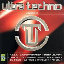 Compilation 2xCD Ultra Techno (Volume 5) - France (M/M)