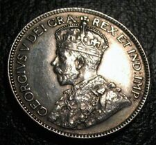 OLD CANADIAN COINS 1918 CHOICE TWENTY FIVE CENTS BEAUTY