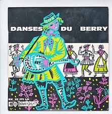DANSE DU BERRY Centre Auvergne Disque 33T 17c L'AGEASSE BOURREE Folk UNIDISC 173