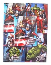 Marvel Avengers Assemble Heroes Hardcover Notebook 5 Piece Set W/Stickers NWT