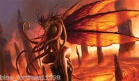 LAIR OF THE SUCCUBUS PLAY MAT PLAYMAT FOR MTG WoW YUGIOH POKEMON ACTION SPORTS