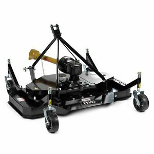 """Titan Attachments 3 Point PTO Finish Mower, 60"""" Cutting Width, Category 1 Hitch"""