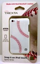 Baseball Trexta Sports Series Snap-On Leather Case for iPod Touch 4th Generation