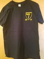 VFA-27 TRIPLE CARRIER PACIFIC 2017 DEPLOYMENT T-SHIRT - SIZE LARGE