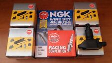 MAZDA RX8 4 x IGNITION COIL + 4 x NGK RACING SPARK PLUGS + NGK SILICONE LEADS