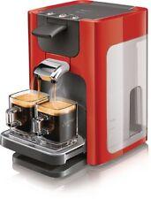 Senseo HD7863/80 Cadran Machine à café à dosettes (XL - réservoir d'eau) rouge