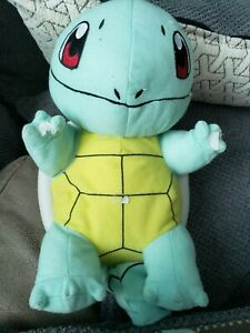 Squirtle Pokemon Character Plush  Toy Factory 2016 Styrofoam Filled