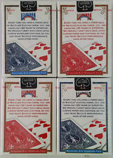 4 Decks Bicycle US Standard Playing Cards Trusted Poker Card Made in USA 2016 AU