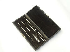 1920s Antique Ls Starrett Co Machinist Inside Micrometer Gauge Tool Set Co1