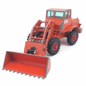 Vintage Lesney Matchbox King Size K-3 Hatra Tractor Shovel Orange