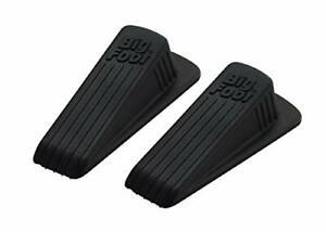 Master Manufacturing 2-Pack Brown Big Foot Door Stops, Heavy 2 Pack,