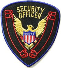 SECURITY OFFICER PATCH #1