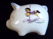 Small china piggy bank souvenir Fantasyland West Edmonton Mall Alberta