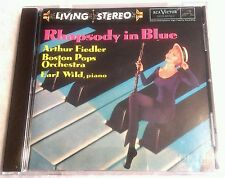 RARE - RCA LIVING STEREO RCA CD GERSHWIN RHAPSODY IN BLUE FIEDLER BOSTON POPS