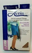 Activa Womens Soft Fit Graduated Therapy Thigh High Compression Stockings XL