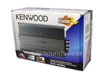 NEW Kenwood KAC-M3004 600 Watts 4-Channel Motorcycle Marine Boat ATV Amplifier