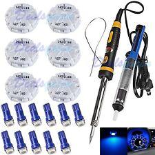 6 x Gm Gmc Stepper Motor X27.168 Speedometer Cluster Repair Kit 11 Blue Led Tool