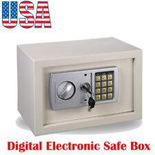 USPS Digital Safe Box Electronic Lock Home Office Fireproof Security Cash Gun