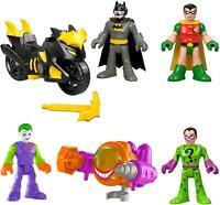 DC Super Friends Dueling Duos Gift Set Batman Robin Joker Riddler Batcycle