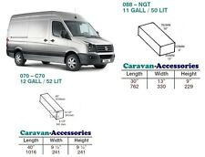 Water Tank Kit Fresh & Waste for Crafter/Sprinter MWB D.I.Y Kit van to Campervan