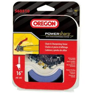 """OREGON® PowerSharp® Replacement Chain for CS300 16"""" Cordless Chainsaw     560510"""