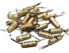 20x Siemens styroflex condensatori, 1100 PF, 250 V, vintage audio capacitors