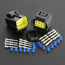 1Set Car 8 Pin Way Waterproof Electrical Wire Cable Connector Plug Terminals