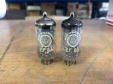 2 Vintage 1960 Valvo Germany EF86 6267 Vacuum Tubes Tested Guaranteed!