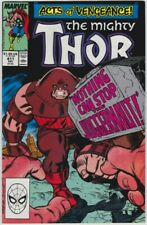 Thor 411 NM- 9.2 1st Appearance of the New Warriors