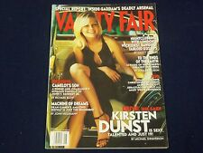 2002 MAY VANITY FAIR MAGAZINE - KIRSTEN DUNST COVER - FASHION MODEL - F 4140