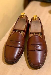 Mezlan Moccosin Loafer Shoes 10 D Made In Spain
