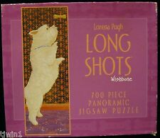 LORENA PUGH WISHBONE LONG SHOTS PANORAMIC 700 PIECE JIGSAW PUZZLE DOG NEW! H-39