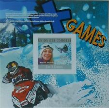 X Games extreme sports Comores Comoros s/s Mi. Bl.586 MNH #CM10214b IMPERF