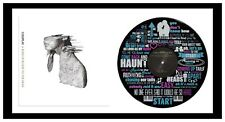 COLDPLAY - ART - SCIENTIST & ALBUM COVER - FRAMED VINYL RECORD LYRIC ART