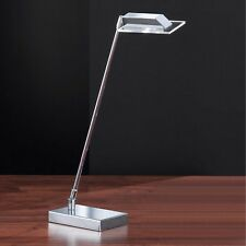 Honsel LED éclairage de table Lunn CHROME réglable interrupteur lampe de bureau