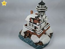 Harbour Lights Lighthouse Colchester Reef Vt Christmas 1996 #701 Box Docs Book!