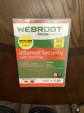 Webroot Secure Anywhere Internet Security | 3 Devices | Windows Mac iOS