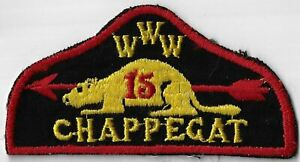 OA Chappegat Lodge 15  RED Bdr. New Rochelle, NY (SEWN) [MX-9298]