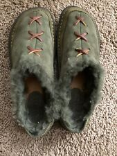Born Men's Green Slipper Shoes- Size 9