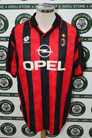 maglia calcio shirt maillot trikot camiseta MILAN BAGGIO TG XL1995/96  NO RIPROD