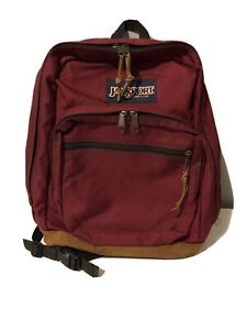 jansport dark red vintage backpack ALT To Bella Swan Twilight Red Back Pack