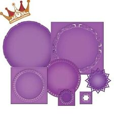 SPELLBINDERS Nestabilities Imperial GOLD CIRCLES ONE 7 Dies S4-390 Mix Match