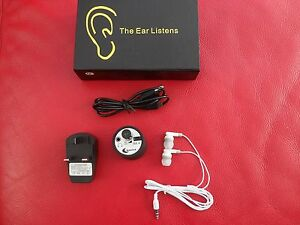 Professional Contact Microphone Spy Audio Ear Listening Through Wall Device Hear